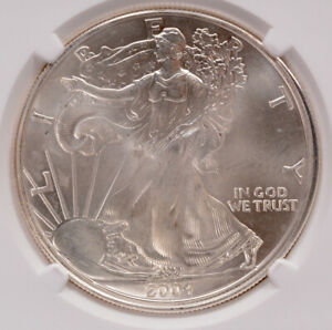 Click now to see the BUY IT NOW Price! NGC $1 2004 SILVER EAGLE DOUBLE STRUCK 2ND PARTIAL COLLAR MS65