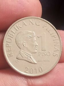 COIN / REPUBLIC OF THE PHILIPPINES / 1 PISO 2010 KAYIHAN COINS
