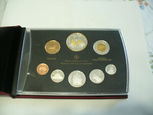 Click now to see the BUY IT NOW Price! 2011  CANADA PROOF SET   TOONIE  LOONIE FIFTY CENT QUARTER NICKEL DIME PENNY