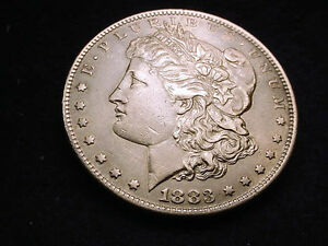 1883 S MORGAN DOLLAR MAGNIFICENT TONED KEY DATE COIN    155