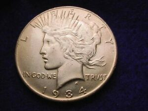 1934 PEACE DOLLAR GREAT KEY DATE COIN     150