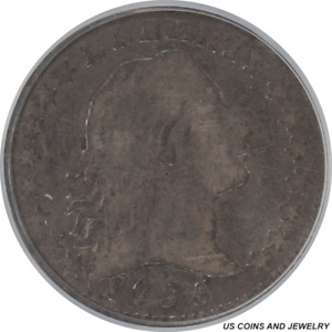 Click now to see the BUY IT NOW Price! VERY NICE 1795 FLOWING HAIR HALF DIME PCGS VG 1 0  VG10  WW780