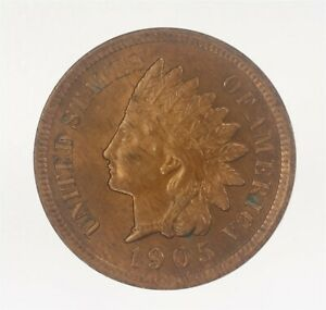 1905 P INDIAN HEAD CENT UNCIRCULATED JO/1191