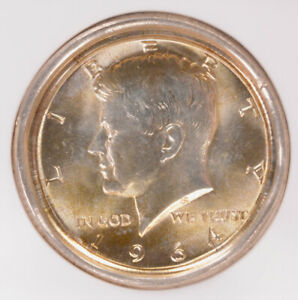 Click now to see the BUY IT NOW Price! NGC 50C 1964 KENNEDY HALF DEEP OBVERSE DIE CAP MS65