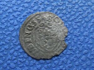 1635 ELBING. SOLID SZELAG SCHILLING. MEDIEVAL COIN 2300