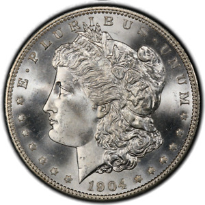 Click now to see the BUY IT NOW Price! 1904 O $1 MORGAN DOLLAR PCGS MS67  CAC  3339 2