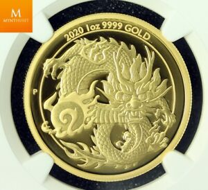 Click now to see the BUY IT NOW Price! AUSTRALIAN 2020 1OZ GOLD 100 DOLLAR DRAGON NGC PF70 UC MINTAGE 188