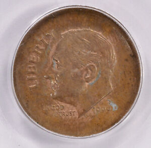 Click now to see the BUY IT NOW Price! PCGS 10C 1999 D ROOSEVELT DIME OVERSTRUCK ON LINCOLN CENT PLANCHET MS64 BN