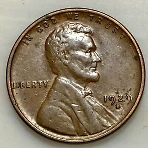 SHARP 1929 D LINCOLN PENNY YOUR ACTUAL COIN IN PHOTO