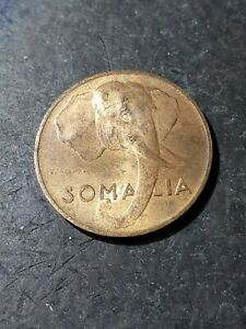 Click now to see the BUY IT NOW Price! 1950 SOMALIA 5 CENTESIMI ELEPHANT COIN OCT161