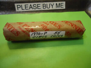 1970 P LINCOLN CENT ROLL