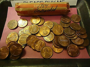 1984 LINCOLN CENT ROLL       ROLL     >> C/S & H AVAILABLE <<
