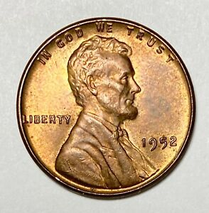 1952 LINCOLN OBVERSE WHEAT EARS REVERSE 1 DOUBLE DIE REVERSE ERROR COIN  4661