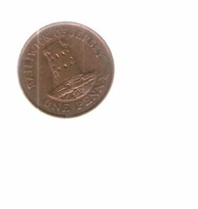 1998 JERSEY 1P / PENNY COIN   LE HOC TOWER