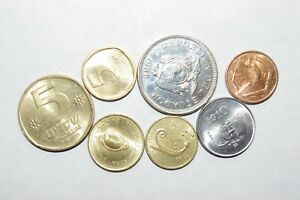 1986 1 SUCRE ECUADOR OTHER GREAT WORLD COINS 7 UNC OR HIGH GRADE VALUE COINS C3