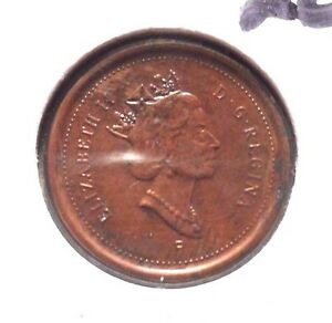 CIRCULATED 2003 ONE CENT CANADA COIN   62715  ..FREE DOMESTIC SHIPPING