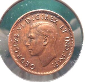 CIRCULATED 1943 ONE CENT CANADA COIN    62715