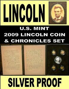 Click now to see the BUY IT NOW Price! LINCOLN CHRONICLES SET 2009 SILVER DOLLAR SET GETTYSBURG ADDRESS & SLEEVE