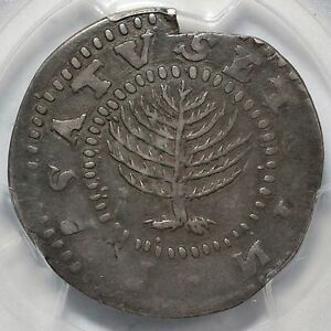 Click now to see the BUY IT NOW Price! 1652 NOE 11 PCGS VF 25 LG PLAN PINE TREE SHILLING  RED BOOK VARIETY