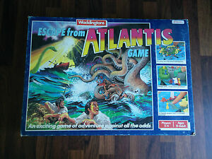 escape from atlantis board game