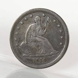 Click now to see the BUY IT NOW Price! RAW 1839 SEATED LIBERTY 25C NO MOTTO UNCERTIFIED UNGRADED US SILVER QUARTER COIN