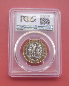 Click now to see the BUY IT NOW Price! GIBRALTAR 2000AA THE APPLES OF THE HESPERIDES 2 POUNDS BIMETALLIC COIN PCGS MS65