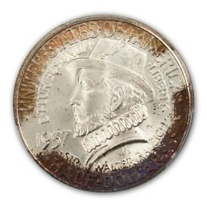 Click now to see the BUY IT NOW Price! ROANOKE 1937 50C SILVER COMMEMORATIVE PCGS MS68