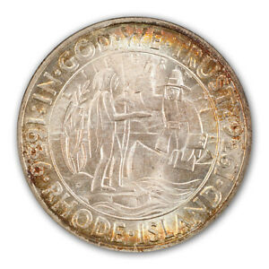 Click now to see the BUY IT NOW Price! RHODE ISLAND 1936 D 50C SILVER COMMEMORATIVE PCGS MS67  CAC