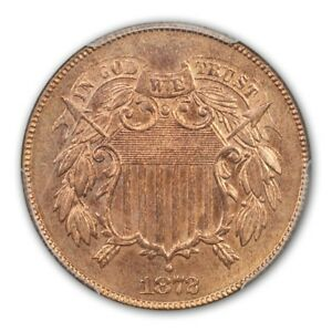 Click now to see the BUY IT NOW Price! 1872 2C TWO CENT PIECE PCGS MS65RD