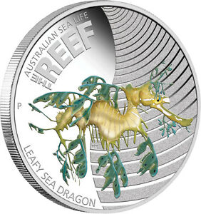Click now to see the BUY IT NOW Price! 3 COINS   2010 PERTH AUSTRALIAN 1/2 OZ LEAFY SEA DRAGON SILVER COIN UNCIRCULATED