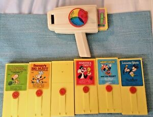 fisher price movie viewer 7 films snoopy
