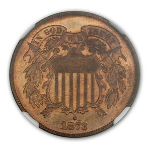 Click now to see the BUY IT NOW Price! 1873 2C CLOSED 3 TWO CENT PIECE NGC PR67RB