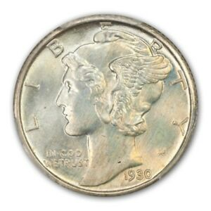 Click now to see the BUY IT NOW Price! 1930 10C MERCURY DIME PCGS MS67 FB