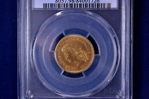 1879 $4 FLOWING HAIR GOLD STELLA UNCIRCULATED PCGS UNC DETAILS 84001726