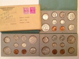 Click now to see the BUY IT NOW Price! 1951 PDS FULLY ORIGINAL US DOUBLE MINT SET WITH US MINT PACKAGING CHOICE UNC