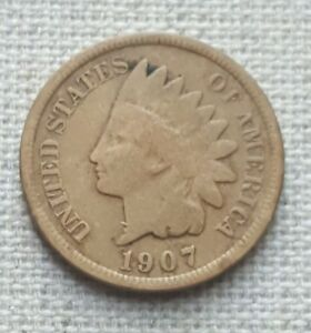 1907 INDIAN HEAD CENT   FINE