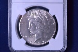 1928 $1 PEACE SILVER DOLLAR UNCIRCULATED NGC MS 61 3178061 014