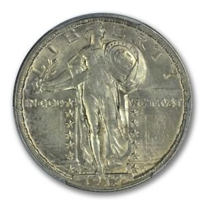 Click now to see the BUY IT NOW Price! 1918/7 S 25C STANDING LIBERTY QUARTER PCGS AU58FH  OVERDATE