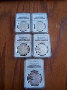 Click now to see the BUY IT NOW Price! 2010 BOY SCOUTS PROOF SILVER DOLLAR ULTRA CAMEO SET OF 5 FROM NGC