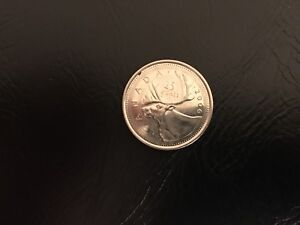 Click now to see the BUY IT NOW Price!  2006 CANADA QUARTER  25 CENTS