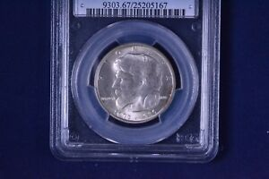 Click now to see the BUY IT NOW Price! 1936 50C ELGIN COMMEMORATIVE HALF DOLLAR UNCIRCULATED PCGS MS 67 25205167