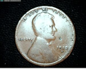 1912 D LINCOLN WHEAT SMALL CENT PENNY 6925