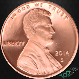 2014 S  1  LINCOLN SHIELD CENT   PR GEM PROOF RED DEEP CAMEO   524419BAG
