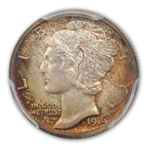 Click now to see the BUY IT NOW Price! 1916 S 10C MERCURY DIME PCGS MS67 FB