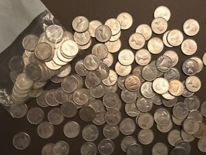 Click now to see the BUY IT NOW Price! 1957 CANADA 10 CENT UNC SILVER COIN 175 PCS LOT BU UNICRCULATED