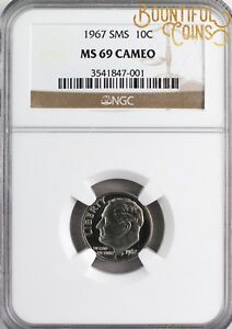 Click now to see the BUY IT NOW Price!  1967 NGC SMS 69 CAMEO ROOSEVELT DIME 10C TEN CENTS TOP POP SPECIAL MINT  U86