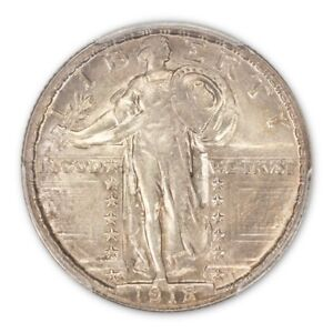 Click now to see the BUY IT NOW Price! 1918/7 S 25C STANDING LIBERTY QUARTER PCGS AU58FH