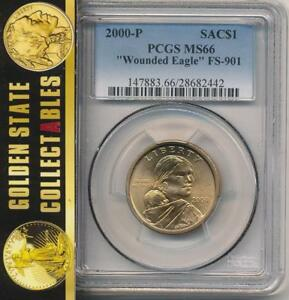 Click now to see the BUY IT NOW Price! 2000 P SACAGAWEA PCGS MS 66