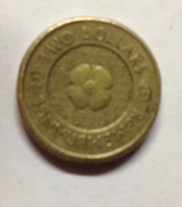 2012 AUSTRALIAN TWO DOLLAR COIN REMEMBRANCE DAY GOLD POPPY COIN CIRCULATED