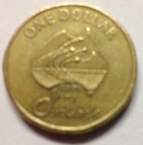 2002 AUSTRALIAN ONE DOLLAR COIN YEAR OF THE OUTBACK CIRCULATED